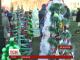 У центрі Кам'янця-Подільського з'явилася новорічна еко-галявина