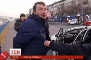 У Києві п'яний водій, тікаючи від поліції, збив хлопця на пішохідному переході