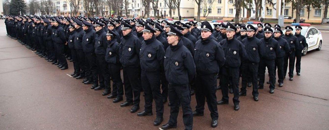 Новорічну ніч у Києві охоронятимуть понад 500 поліцейських