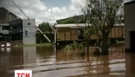 Высокая вода накрыла Южную Америку