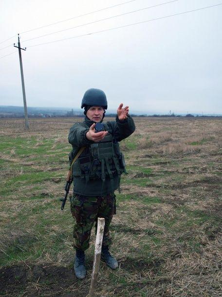 У штабі АТО показали фото бойової підготовки артилеристів на Донецькому напрямку