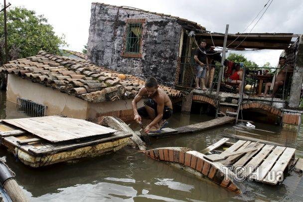 Найбільша за 50 років повінь накрила Південну Америку
