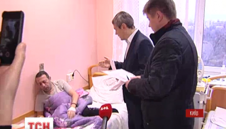 Ніч після вчорашнього суду Геннадій Корбан провів в інституті Амосова