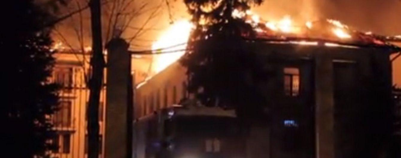 В Росії згорів санаторій ФСБ