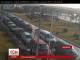 На українсько-польському кордоні знову утворилися довжелезні автомобільні затори