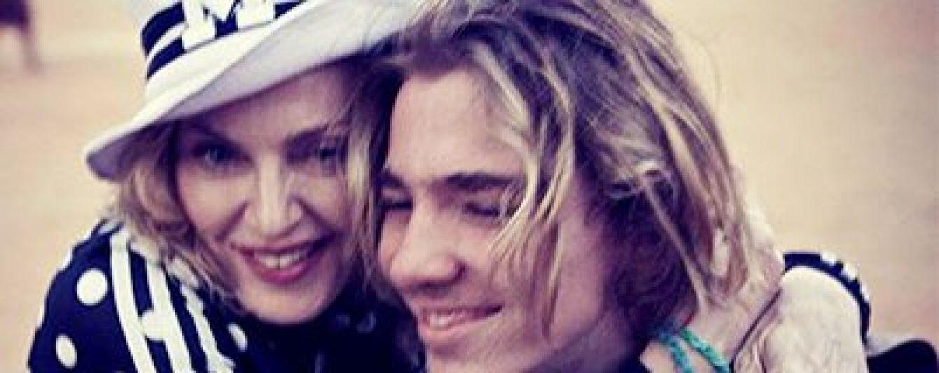 Скандал у родині Мадонни: 15-річного сина зірки зобов'язали повернутися додому