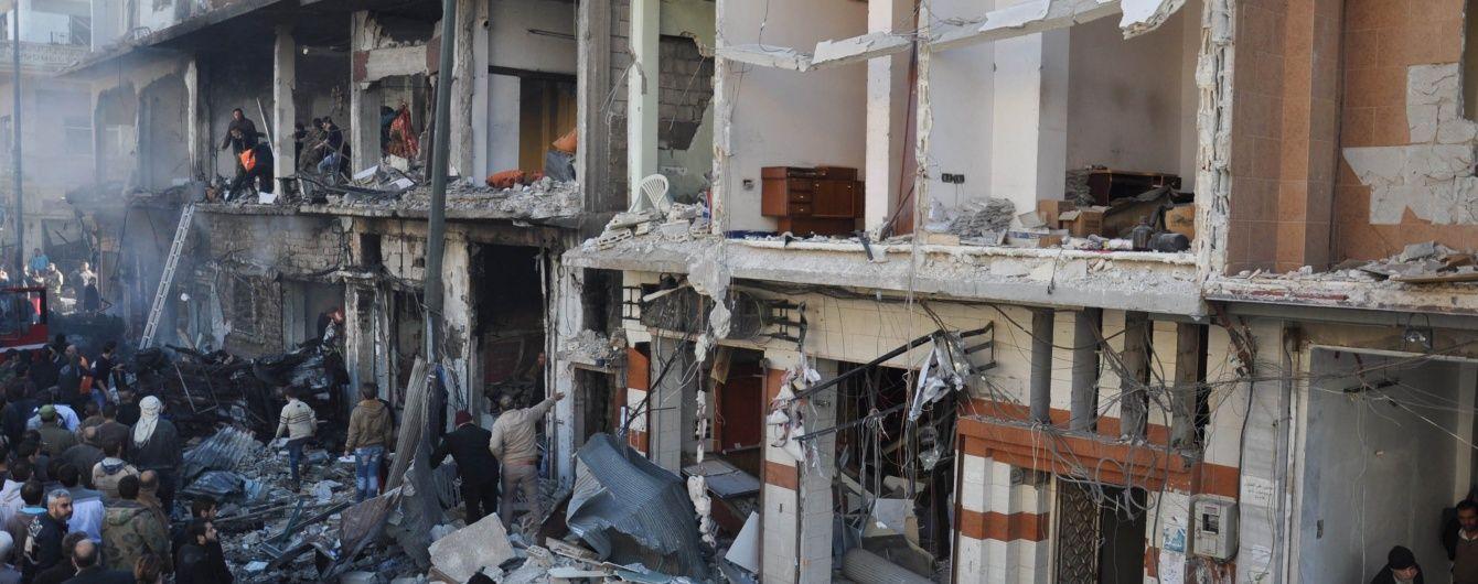 В Мережі з'явилося моторошне відео масштабних руйнувань сирійського міста Хомс