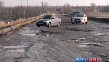 Почему Днепропетровские дороги не отражаются в зеркале