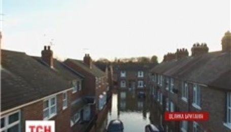 Великобритания уходит под воду