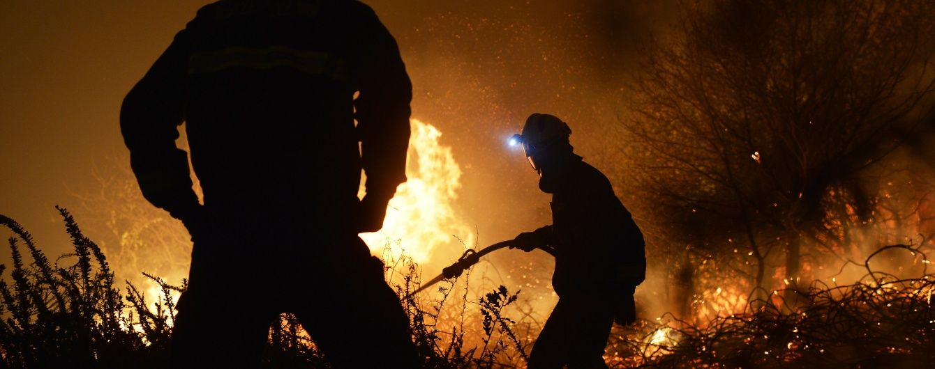 Через пожежу під Києвом довелося евакуйовувати немовлят