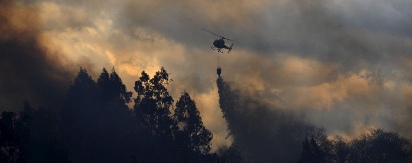 У Канаді потужна лісова пожежа вигнала 80 тисяч осіб із своїх домівок