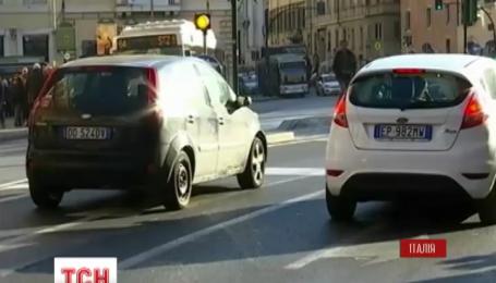 У Римі обмежили рух машин