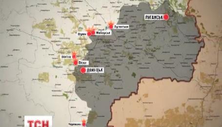 Бойовики ведуть найактивніші обстріли на підступах до Донецька