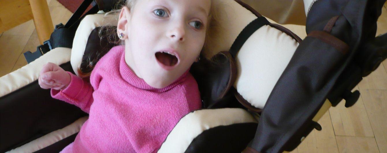 Жертовної допомоги потребує 6-річна Катюша