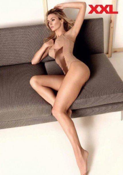 Брежнєва без спіднього показала довгі ноги у глянці для чоловіків