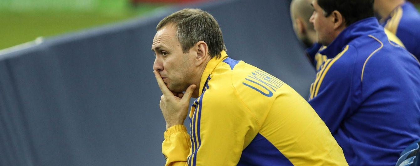 Новий тренер молодіжної збірної України назвав свій штаб