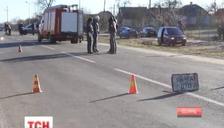 Четверо людей загинули у ДТП на Волині