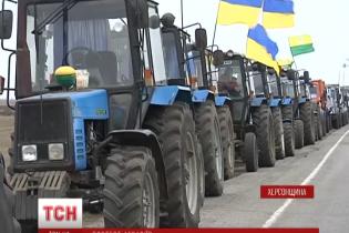 Бунтівні українські аграрії домовилися зробити паузу в протестах на новорічні свята