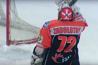 Хокейний воротар забив фантастичний автогол у Кубку Польщі