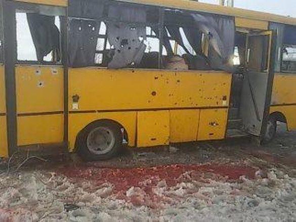 волноваха, автобус,  теракт