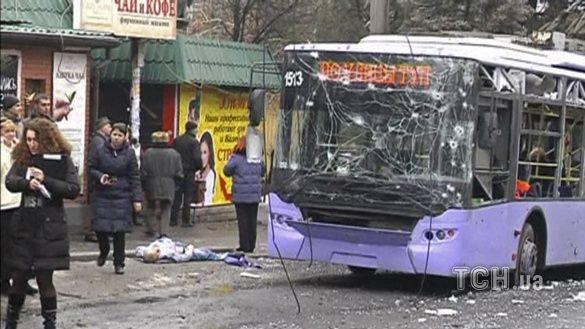 тролейбус в донецьку