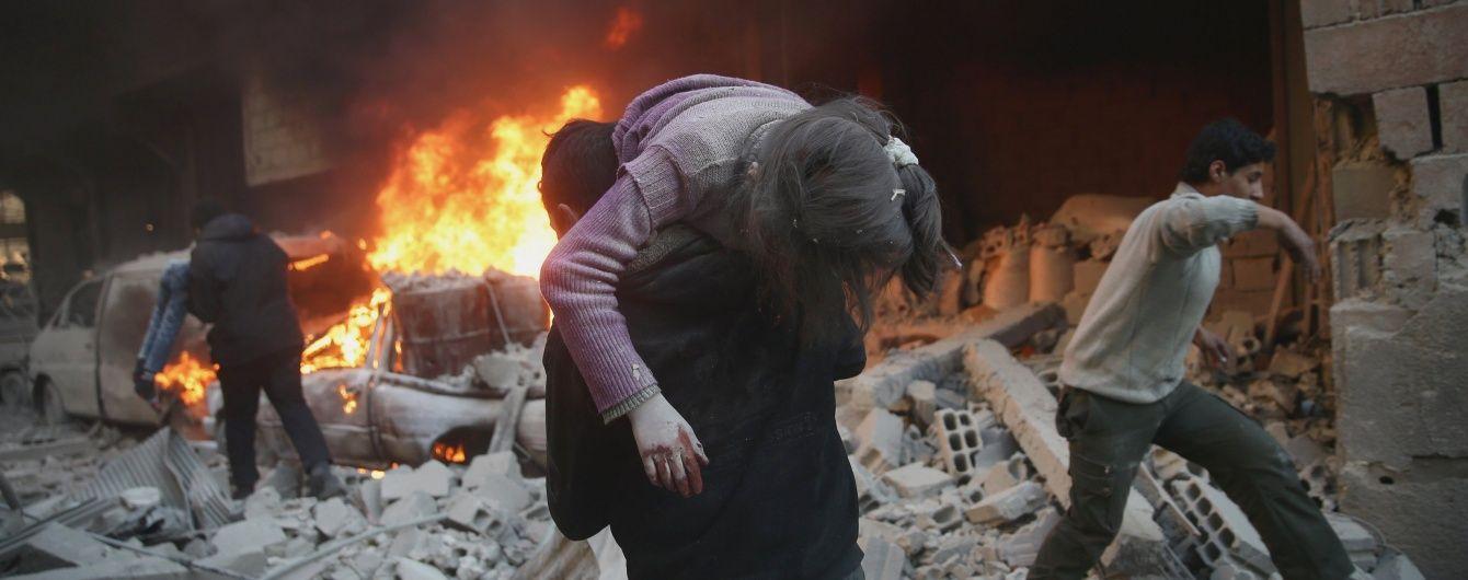 Понад 60 людей стали жертвами авіаударів РФ у Сирії