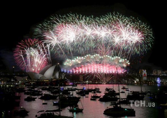 Зустріч Нового Року у Сіднеї _1