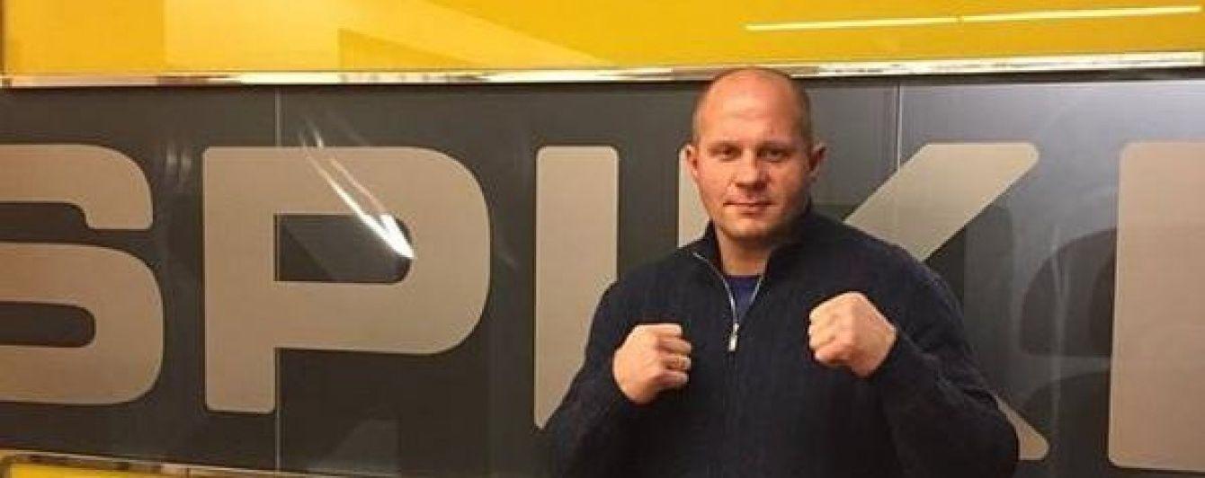 Боєць Ємельяненко виграв перший бій після трирічної перерви