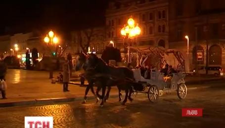 Львів'яни зустрічатимуть Новий рік без снігу