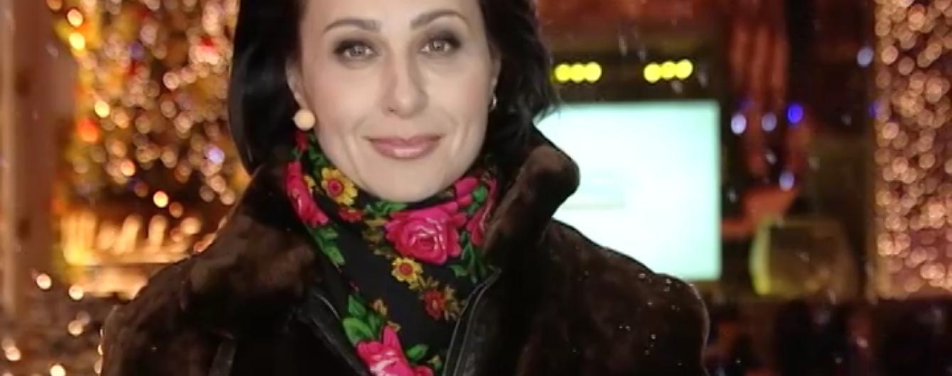 Наталя Мосейчук розплакалась у прямому ефірі вітаючи українців з Новим роком