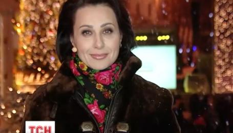 Наталья Мосейчук поздравила украинцев с Новым годом