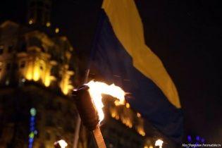 В Україні смолоскипними маршами відзначили день народження Степана Бандери