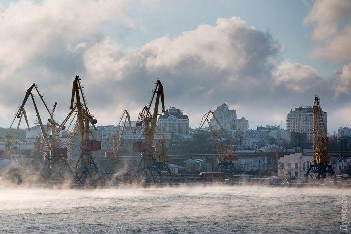 Море в Одесі парує_9