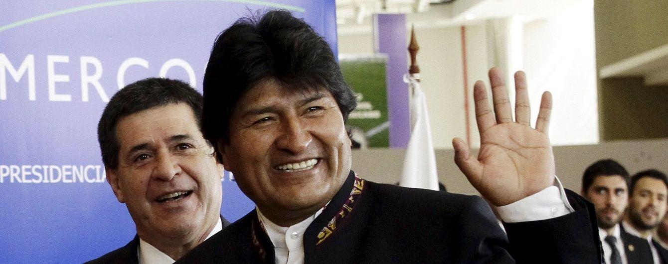 """Президент Болівії розповів, як кока допомогає йому """"боротися з імперіалізмом"""""""