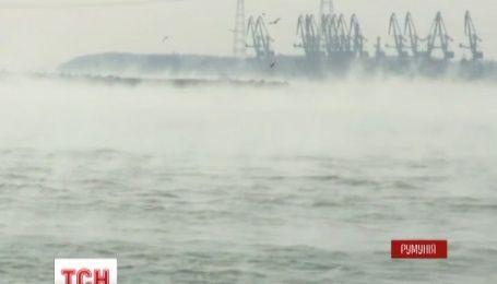 Через значну температурну різницю Дунай «закипів»