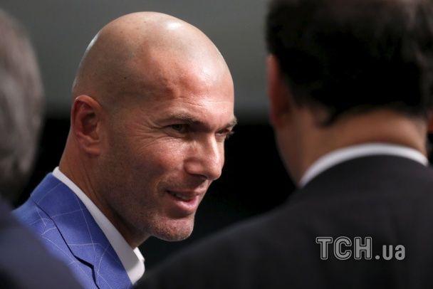 """Новий тренер """"Реала"""" Зідан пообіцяв віддати клубу все своє серце"""