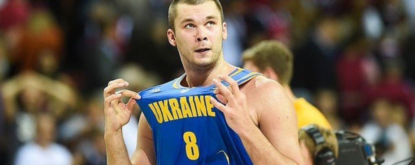 Капитан баскетбольной сборной Украины: мы можем выиграть чемпионат Европы