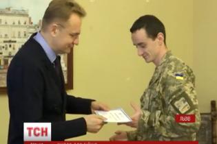 У Львові перед Різдвом 19 родин бійців АТО отримали нові квартири