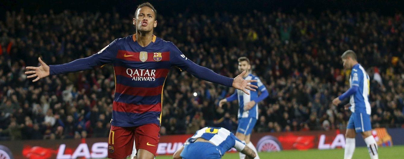 """""""Барселона"""" здобула розгромну перемогу у каталонському дербі"""