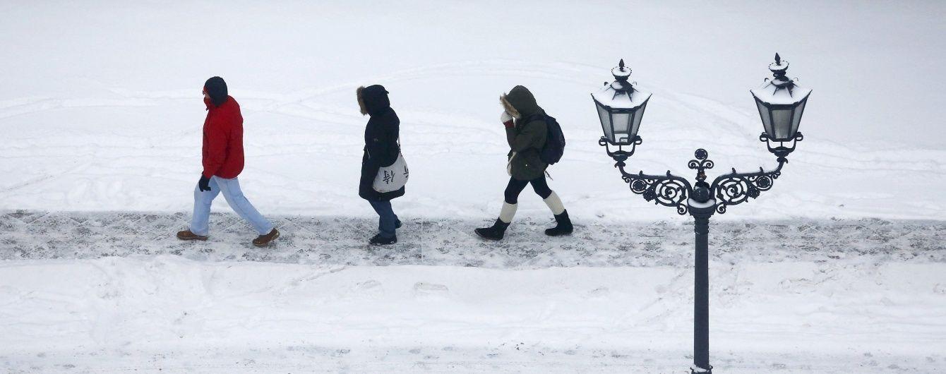 Україну засипатиме снігом, синоптики попереджають про хуртовини