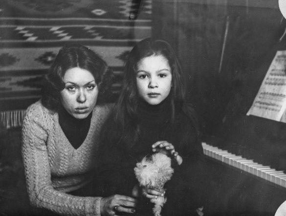 Руслана з мамою