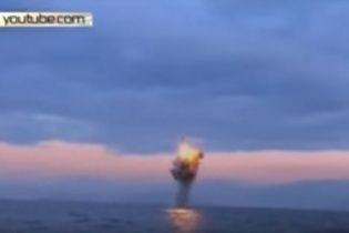 КНДР хвастается новым видео запуска баллистической ракеты