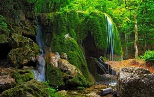 В анексованому Криму обвалився один із найкрасивіших водоспадів
