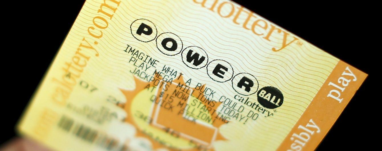 """Учасники американської лотереї Powerball мають шанс """"зірвати"""" рекордний джекпот"""
