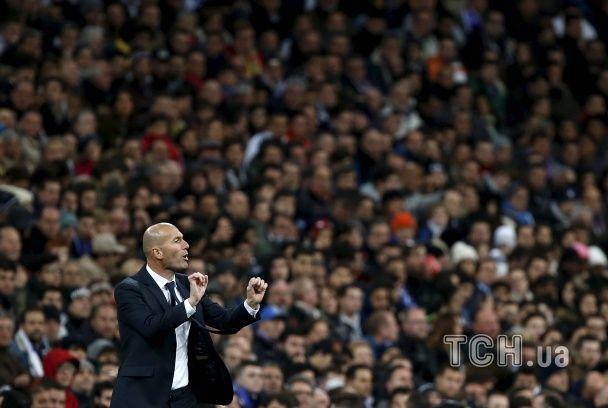 """""""Реал"""" здобув розгромну перемогу у першому матчі Зідана"""