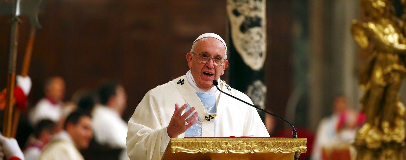 Ватикан оприлюднив деталі нової книги Папи Римського
