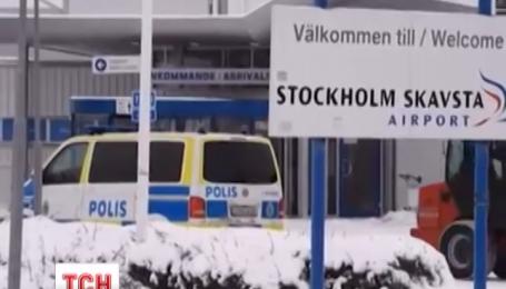 Вблизи Стокгольма частично эвакуировали аэропорт