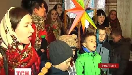 В Ивано-Франковске колядует благотворительный вертеп