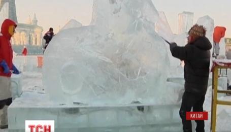 В Китае проходит международный фестиваль ледовой скульптуры