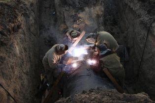 На Львівщині через аварію на магістральному газопроводі без газу залишилися два райони